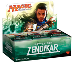 Battle for Zendikar Booster Box - English