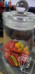 Random Encounter Dice & Pin Jar