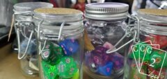 Random Encounter Upcycled Dice
