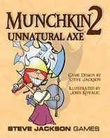 Munchkin 2 Unnatural Axe Expansion pack