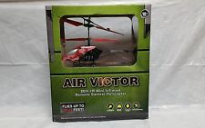 Air Victor Infrared R/C Helicopter Red