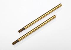 1664t Hardened Steel, Titanium Nitride-coated Shock Shafts (long)