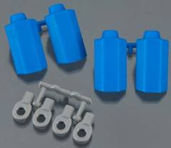80575 Shock Shaft Guard ASC Blue