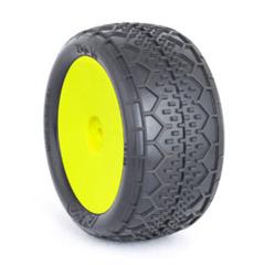EVO Deja Vu Rear,Clay, EVO Wheel Mounted Yellow:BX 13123CRY