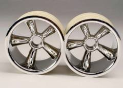 4174 TRX Pro-Star chrome wheels (2) (front) (for 2.2
