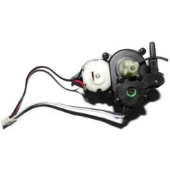 15 - ZJ04 Front Steering Servo for GPTOYS S911 RC High Speed Truck Accessory Supplies  -  BLACK