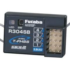 FUTL7680 R304SB 2.4G TFHSS 4Ch Telemetry Rx 4PLS 4PX 3PV