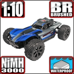Blackout XBE 1/10 Scale Electric Buggy Blue