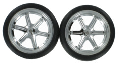 BS205-011 Road Wheels, Chrome