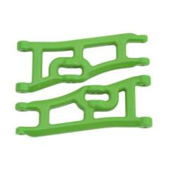 70664 Wide Front A-Arms Green Rustler/Stampede