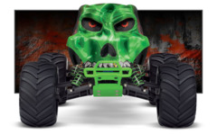 36064-1 Skully 1/10th Scale Monster truck RTR Green