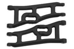 70662   WIDE FRONT A-ARMS, TRAXXAS E-RUSTLER & STAMPEDE 2WD - BLACK