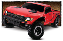 58064-2 Ford Raptor: 1/10-Scale Ford Raptor with On-Board Audio