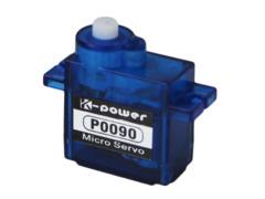 KPOP0090   MICRO ANALOG SERVO 9G, PLASTIC GEAR .09SEC / 1.8KG