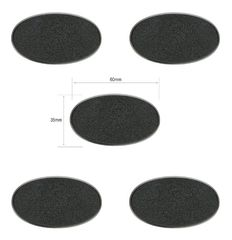 60x35mm Oval Bases