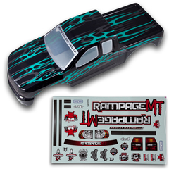 50910 Rampage 1/5 Truck Body with Sticker Sheet