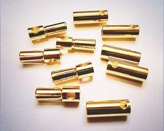 5.5mm Gold Bullet Connector for RC Battery ESC Motor Plug
