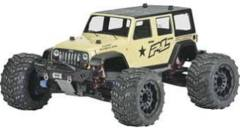 340500   JEEP WRANGLER UNLIMITED RUBICON CLEAR BODY FOR T/E-MAXX 3.3, REVO 3.3, SAVAGE AND SUMMIT