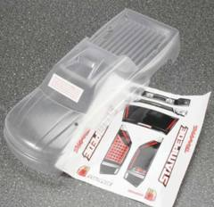 3617 Traxxas Stampede Clear 1/10 Monster Truck Body with Decal Sheet