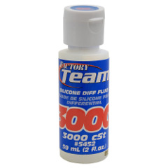 Silicone Diff Fluid, 3000cSt 5452