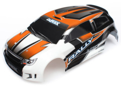 7517 Body, LaTrax 1/18 Rally, orange (painted)/ decals