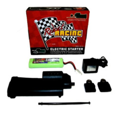 70111E-kit Electric Starter Kit - Complete with Starter Gun, 2 Back Plates, Battery, Charger and Wand