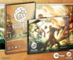 GuildBall A4 Rulebook With Sleeve