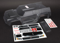 5818 Body, Slash, Dakar truck series, clear (requires painting)/ wing
