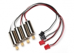 6634 Motor, clockwise (high output, red connector) (2)/ motor, counter-clockwise (high output, black connector) (2)