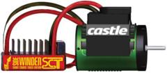 CSE010-0123-02 CASTLE CREATIONS - WATERPROOF SIDEWINDER SCT 1410-3800KV MOTOR