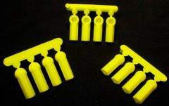 73377   HVY DUTY ROD ENDS YELLOW/12