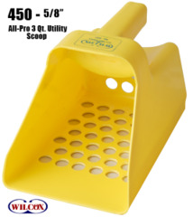 Sand Scoop Plastic Yellow