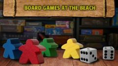 Board Games at the Beach - Sunday Day Badge