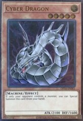 Cyber Dragon (Alternate Art) - OP16-EN001 - Ultimate Rare - Unlimited Edition