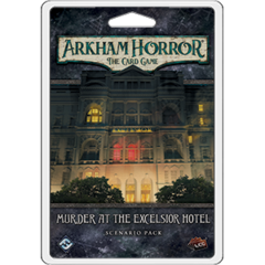 Arkham Horror LCG The Murder at the Excelsior Hotel