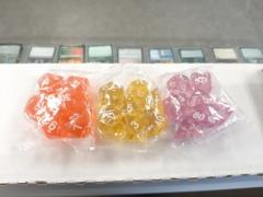 Orange Transparent Basic 7-set