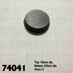 20mm Round Bases (25)