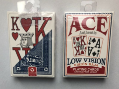 Ace Low Vision Playing Cards