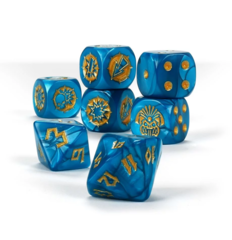 Lizardmen Team Dice Set