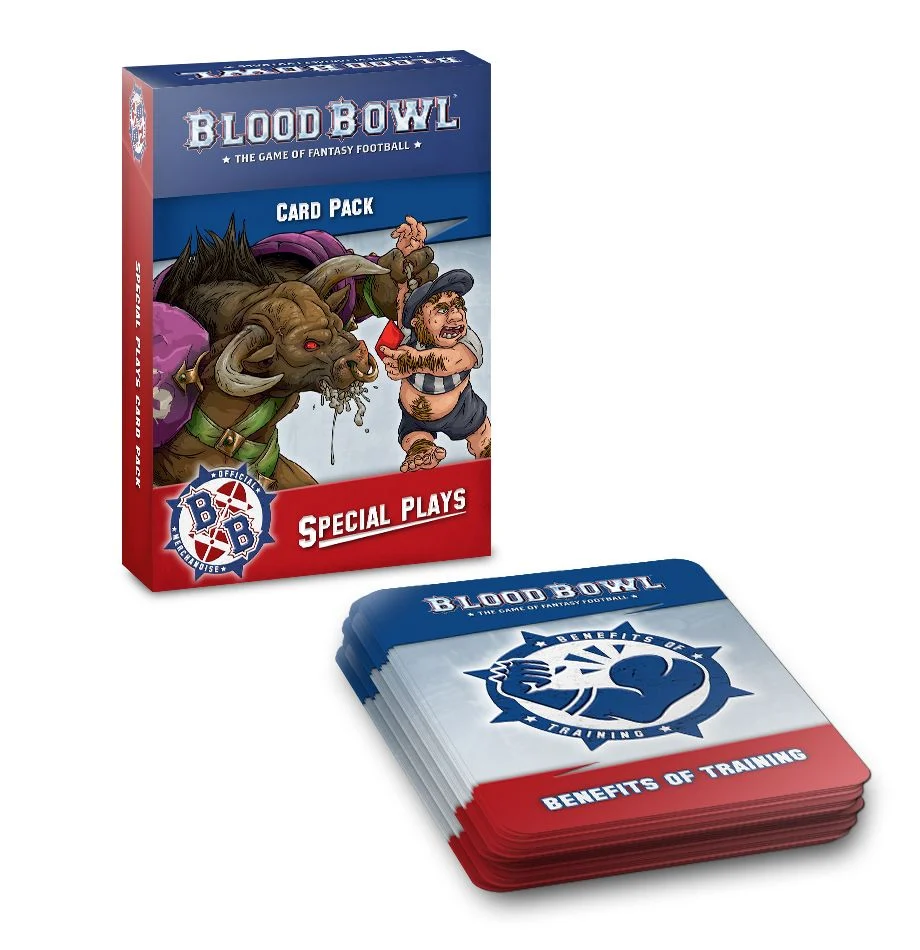 Blood Bowl Second Season Special Plays Deck (2020 English)