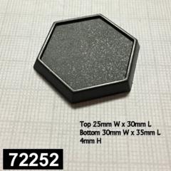 1 Inch Hexagonal Bases (20)