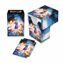 ULTRA PRO: DRAGON BALL SUPER FULL-VIEW DECK BOX - BULMA, VEGETA, AND TRUNKS