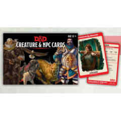 DUNGEONS AND DRAGONS: CREATURE AND NPC CARD DECK