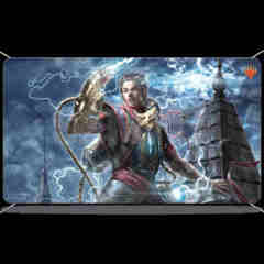 ULTRA PRO: MAGIC THE GATHERING PLAYMAT - WAR OF THE SPARK - ALTERNATE ART - RAL ZAREK