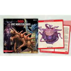 DUNGEONS AND DRAGONS: EPIC MONSTER CARD DECK