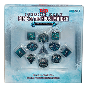 Icewind Dale: Rime of the Frostmaiden - Dice and Miscellany