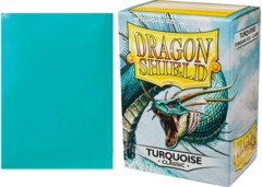Dragon Shield Box of 100 in Classic Turquoise