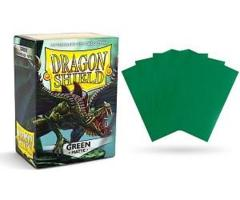 Dragon Shield Box of 100 in Green Matte