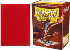Dragon Shield Box of 100 in Crimson Classic