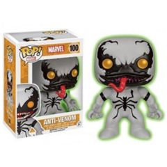 Funko POP - Anti Venom   Venom   BoxLunch Glow Exclusive